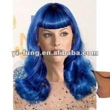 Sexy Soft Katy Blue Wig - Aqua Blue Fashion Wigs