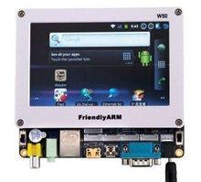 "Mini210 S5PV210 Cortex-A8 Board with 5"" 800480 TFT LCD 256M DDR 2GB NAND 3G WCDMA"