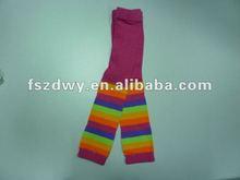 rainbow cotton knitting pantyhose