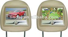 Dual IR Transmitter 7 inch Special Car Monitor Kereta sandaran kepala memantau