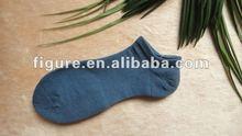 girl's blue sport socks /girl's cozy no show socks
