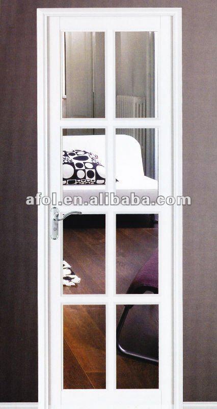 Puertas De Baño Aluminio:Aluminio puerta del baño con el vidrio-Puertas -Identificación del