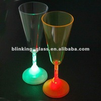 LED Flashing wine glass