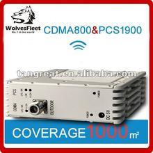 Dual band CDMA/PCS mobile phone signal booster Wireless internet signal booster wireless network amplifier for Iphone motorola