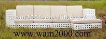 2012 patio garden PE rattan sofa sets for outdoor