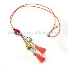 pendant necklace tassel