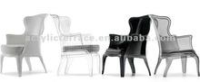 Clear style Acrylic Arm chair