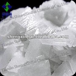 White translucent flake Industrial Grade caustic soda 96%