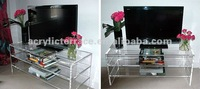 Unique Clear Acrylic TV Stand,TV cabinet,table