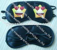2012 latest and fashionable satin sleeping eye mask