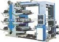 Yt-61000 seis cores gráfica flexo máquinas de impressão