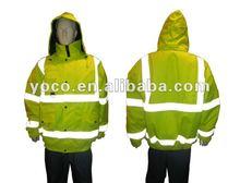 mens 3m reflective safety jacket