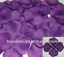 Fabric Silk Flower Rose Petals wedding accessory Wedding Table Confetti
