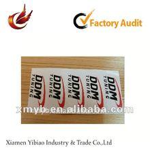 2012 self adhesive paper label sticker