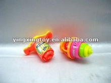 children gift toy mini flash spinning top