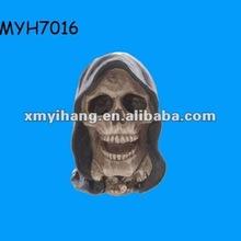 2012 new fashion pink panther ceramic skull money box
