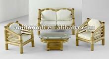 Popular Raw Material Bamboo Sofa Set