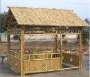 Natural Quadrate Bamboo Gazebo and House