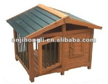 Carbonized Wooden Pet House With Door