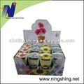 Blumen im Minitopf mit Banderole
