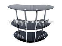 Modern glass bar table