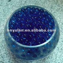 Crystal blue Flower Plants Water Nutrient Bio Gel Soil Family Adornment crystal wedding favors