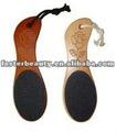 di plastica e di legno del piede