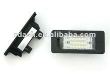 Racing Dash LED License Plate Lamp for BMW E93 LCI 2010~