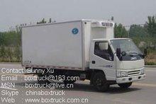 jmc truck, refrigerated truck, China light truck