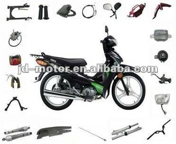 Chinese Cub JY110 Spare Parts and Accessories