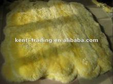 New Zealand Wool Rugs Sheepskin Rug Sheepskin Mat Sheepskin Carpet Colored Sheep Fur Carpet Shaggy Colored Wool Mat