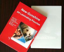 PET film laminating pouches