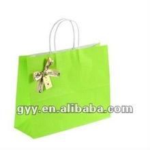 2012 GYY colorful kraft paper bag