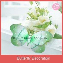 nylon spring butterfly for garden