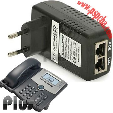 Power Over Ethernet POE adaptador, Poe injector para voip telefone ( CE ROHS FCC aprovado )