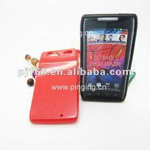 Red glitter Cases for phones Motorola XT910/Droid RAZR