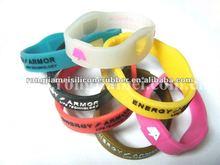 2012 charm silicone energy balance health bracelet ion wristband