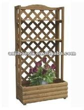 Corner Stand Wooden Flowerpot Trellis Garden Furniture
