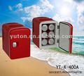Auto mini frigorifero/mini frigo/frigorifero portatile auto yt-a-400a