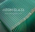10mm de vidrio templado,/plana doblada, con 3c/ce/certificado de laiso