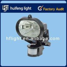 CE 500W Halogen Floodlights with Sensor