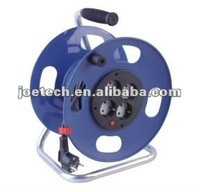 Cable Reel Schuko plug VDE cable H05VV-F 3G1.5mm2 cable Euro 4-outlet sockets 25/50m