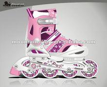 Adjustable 4 wheel alum chasis rollerblade skates