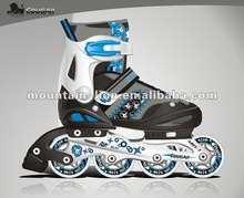 Favored by domestic and foreign market children rollerblades