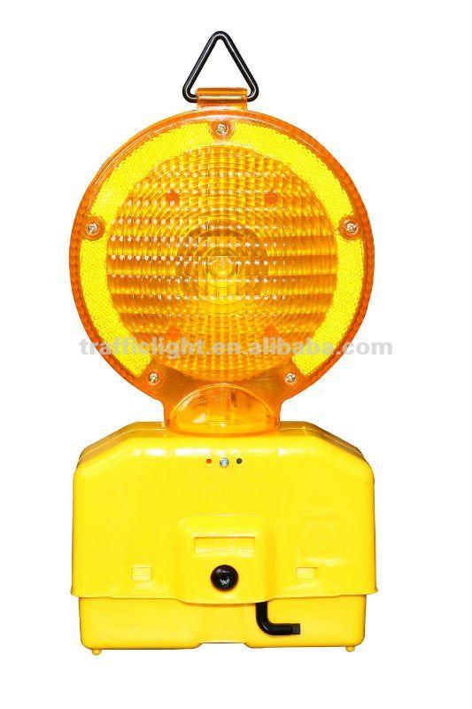 Hazard warning lights for traffic cone, View warning ...
