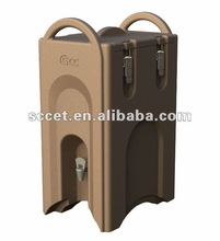 26Liter Insulated Drink Server, Easy Grip Handles, Slate