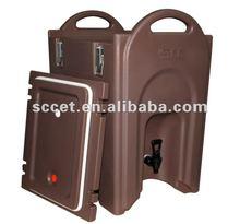 10.6-Gal Insulated Coffee Server, Easy Grip Handles, Slate