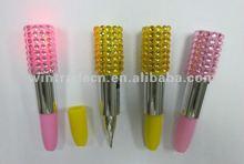 Novelty Flashing Lipstick Dimond Pen