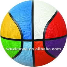 Hot selling rubber basketball / sport matchs balls / kids toy(RB025)