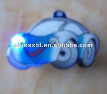 Car logo gift flashing pin